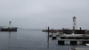 Hafeneinfahrt Mommark