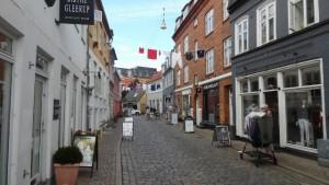 Altstadt Aarhus, malerisch und meist etwas belebter
