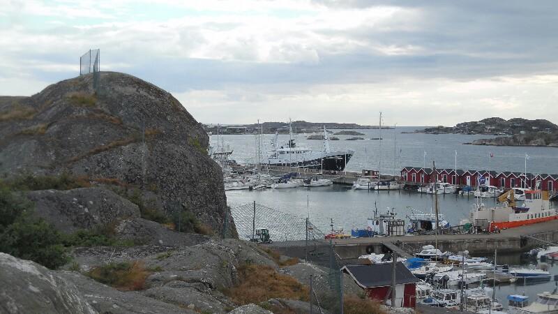Donsö Hafen
