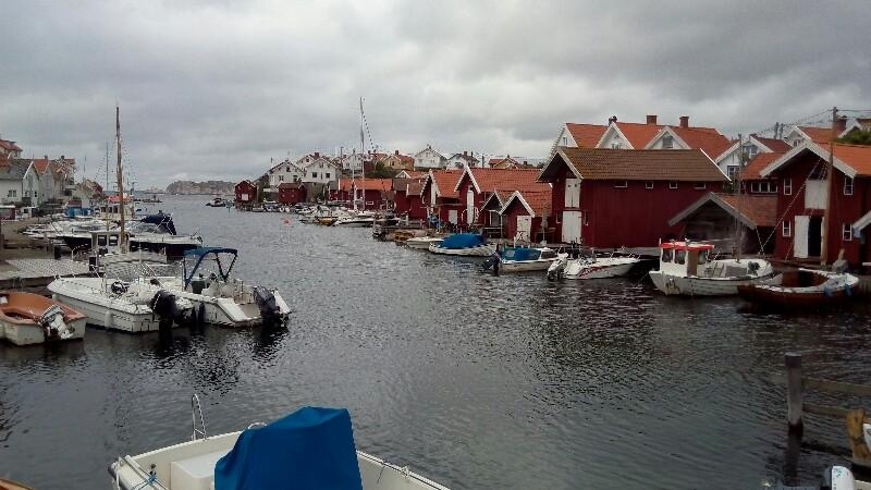 Gullholmen Hafen