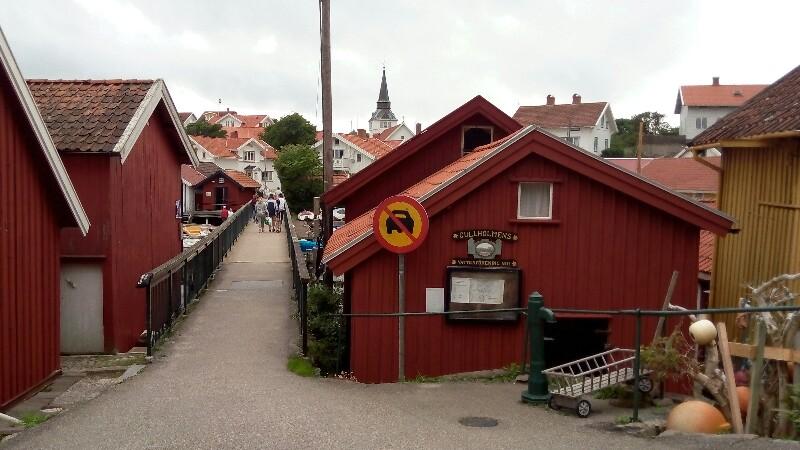 Gullholme, ¨die¨ Brücke