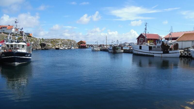 Fischerhafen,Smögen Rückseite