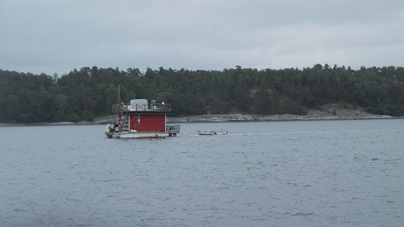 Schwedisches Schwimmteil