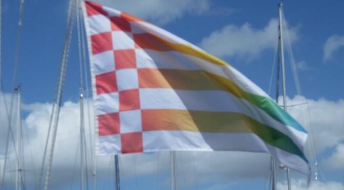 Geschwaderfahrt unter Specktralflagge