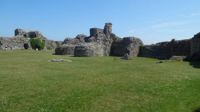 Pevensey Castle, Normannisch