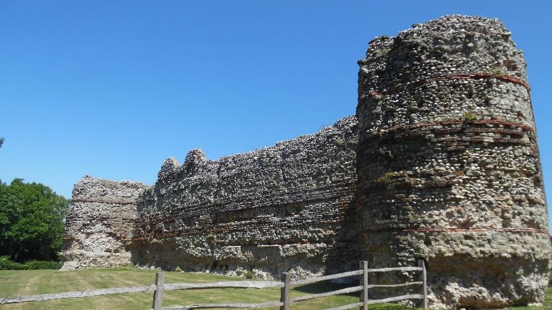 Pevensey Castle, römisch
