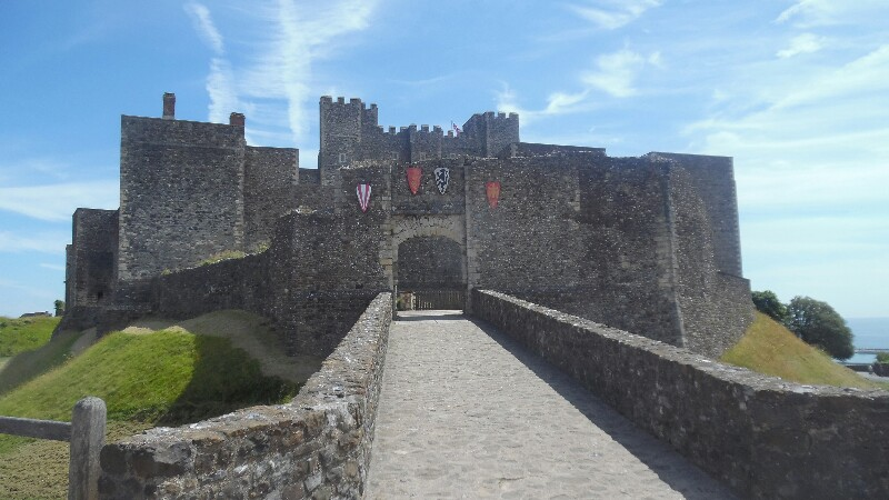 Dover Castle Hintereingang