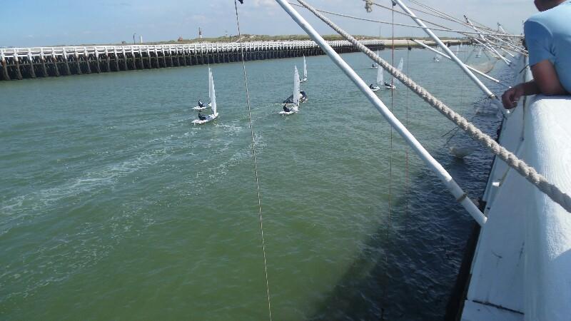 Für die Mittleren: Senken auf der Hafenmole